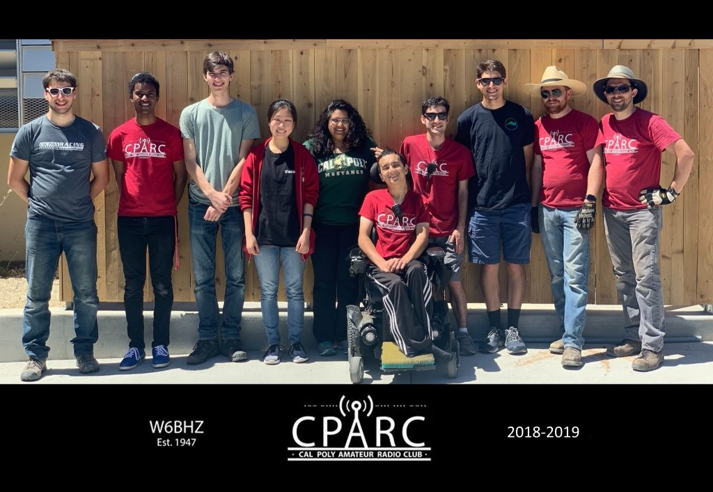 CPARC members posing in front of the HF tower (2019)